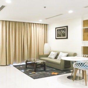 Cho thuê căn hộ dịch vụ ngắn hạn. Loại 1 phòng ngủ. Giá 50$/ngày (Landmark 1)