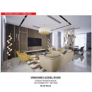 Cho thuê biệt thự Vinhomes Golden River nội thất hiện đại