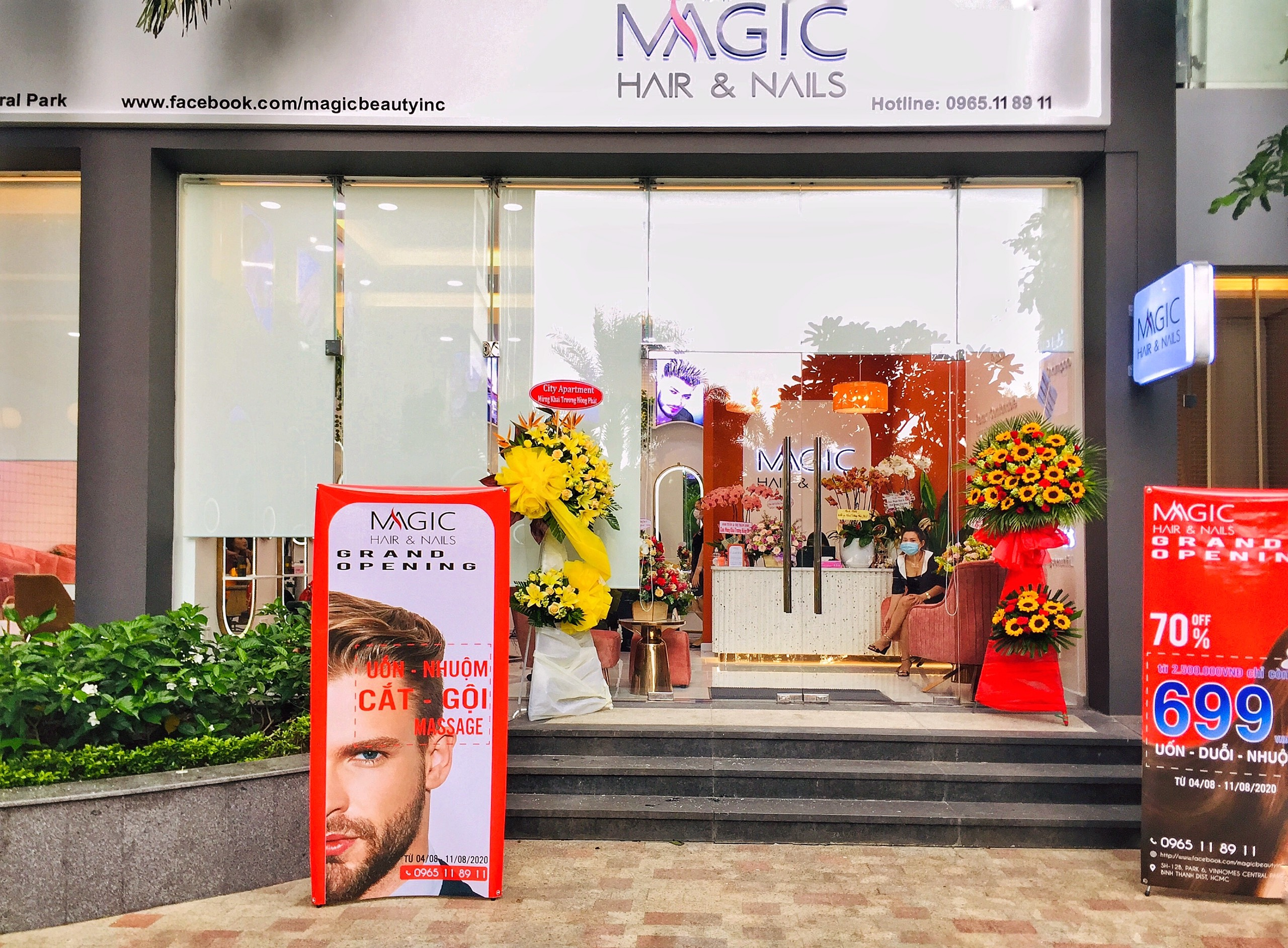 CITY APARTMENT - CHÚC MỪNG SPA MAGIC HAIR & NAILS KHAI TRƯƠNG